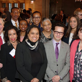 Diverse crowd 2018 reception